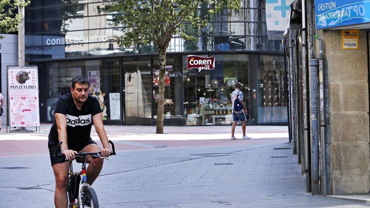 .Ola de calor en Pontevedra