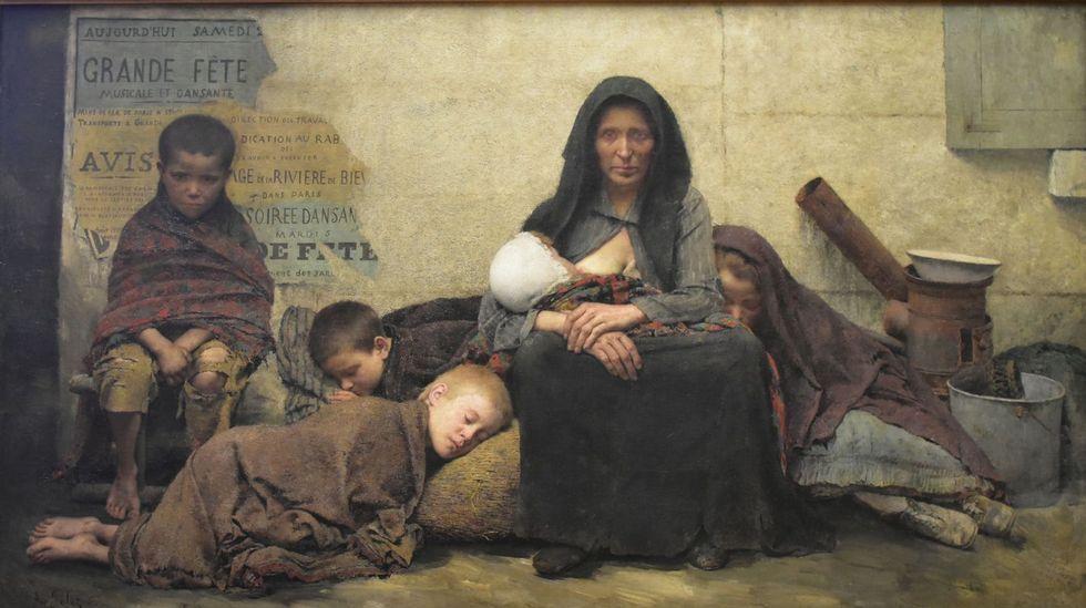 Antonio Banderas: «Me he movido por intuición toda mi vida».«Sans asile» (1883), de Fernand Pelez de Cordova. Paris Petit Palais