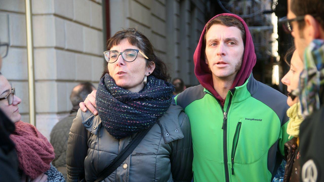 .Marta Llorens y Oriol Ciurana, ayer en Reus
