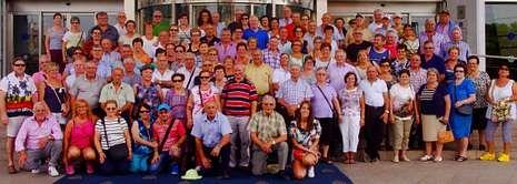 Participantes en la excursión organizada por el Concello de Vimianzo.