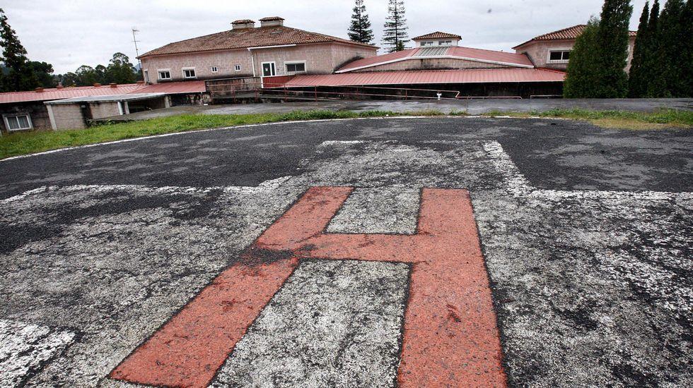 Perrera provisional en unas instalaciones municipales en la Rúa do Porvir en Sarria