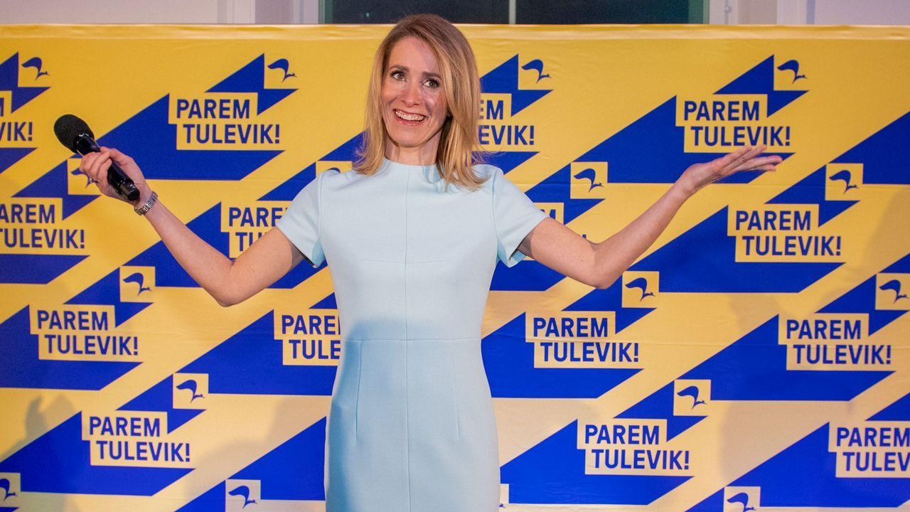 | EFE.Si Kallas tiene éxito en formar un gobierno, Estonia será gobernada por dos mujeres, ya que la presidencia del país es ocupada por Kersti Kaljulaid