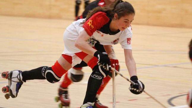 La jugadora de Hockey Marta Piquero