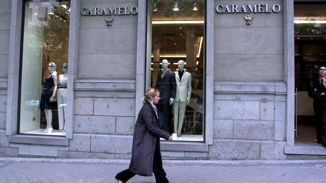 .Emblemática tienda de Caramelo en la calle Serrano de Madrid, en plena fase de expansión del grupo