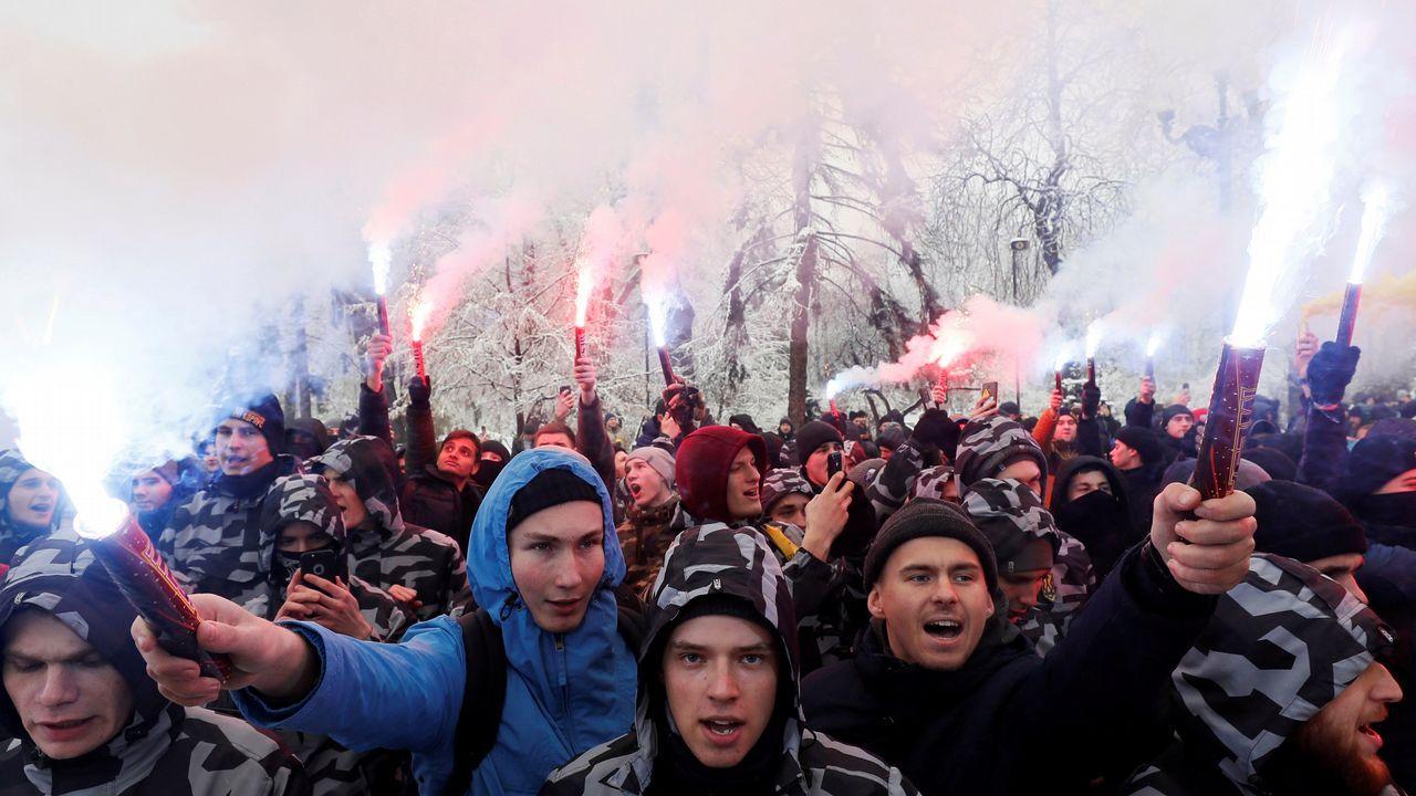 Escalada de tensión en Ucrania.La demografía no será un parámetro decisivo en el reparto de fondos