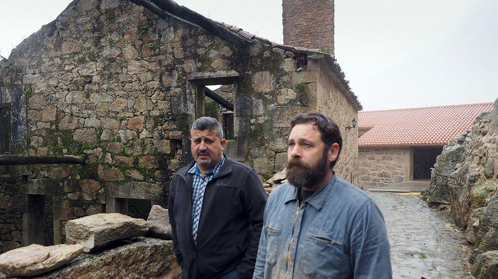 Querer vivir en la aldea... y no poder.TORRES DE TALLO. El pazo pontecesán está catalogado como BIC, pero la falta de mantenimiento ha hecho que ahora sea una ruina. Está en manos privadas. Sería una candidata a la expropiación.