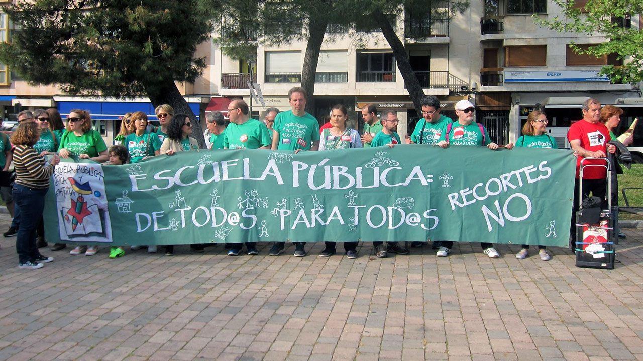 Las huelgas contra la Lomce se repiten cada curso desde el 2012/13, cuando se aprobó