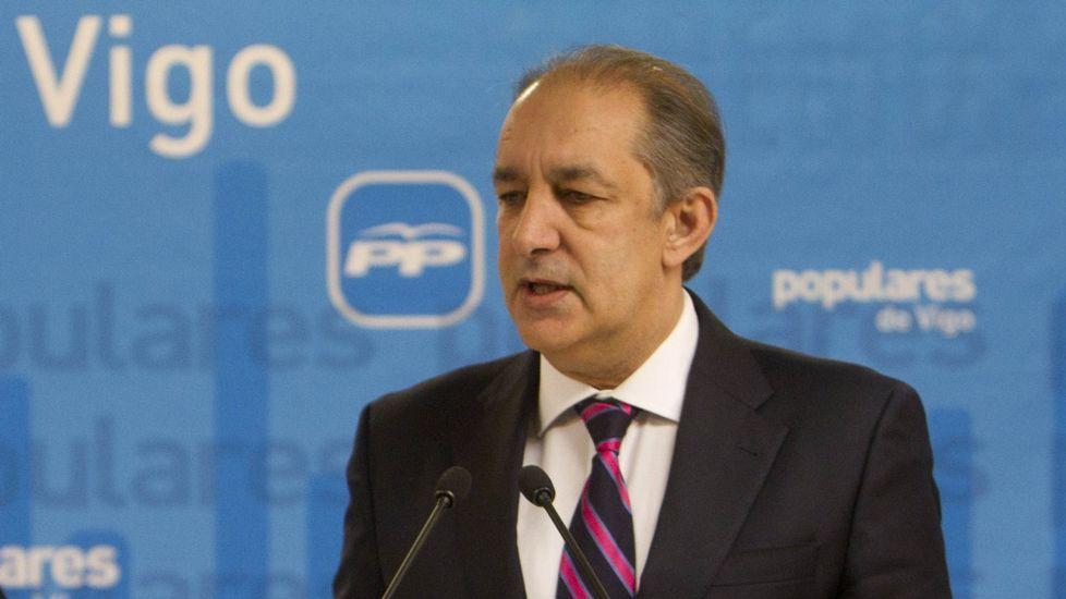 Jose Manuel Figueroa, vicepresidente de la Diputación de Pontevedra
