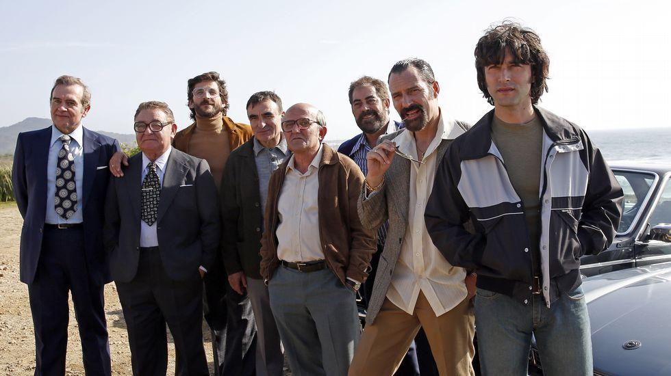 «Fariña», la narcoserie sobre los clanes gallegos de la droga.Jorge Martínez, líder de Ilegales