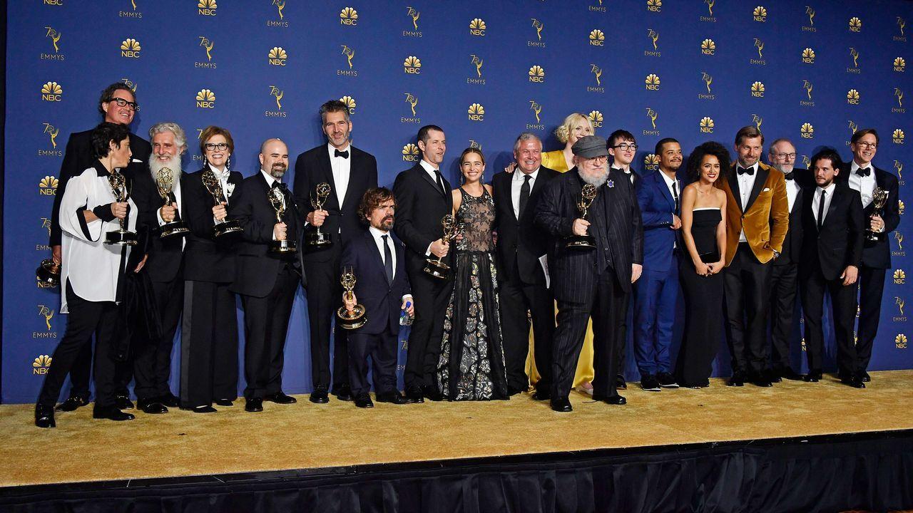 Emmy 2018: Equipo de «Juego de Tronos»