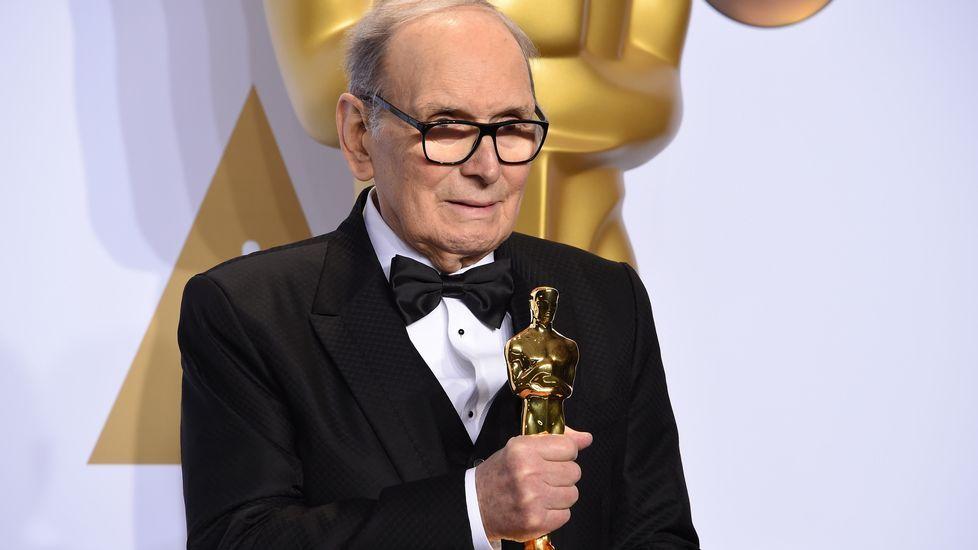 Ennio Morricone ganó, por fin un Oscar, por la banda sonora original de «Los odiosos ocho».