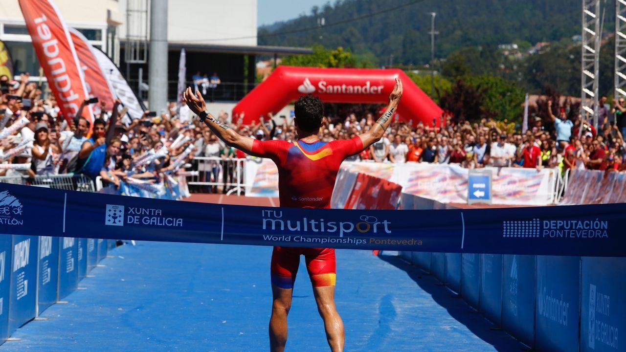 Gómez Noya, campeón del mundo en casa.Lindsey Vonn