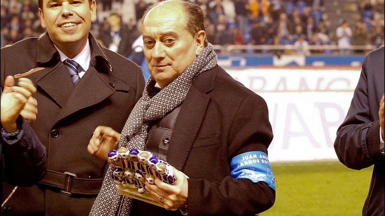 Eneko Bóveda espera que el lunes el Dépor recupere la senda de juego del partido del Cádiz