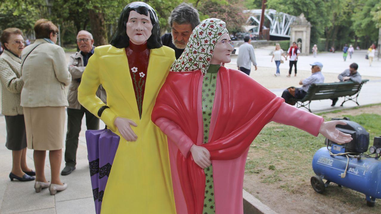 El cambio radical de las hermanas Coralia y Maruxa Fandiño.
