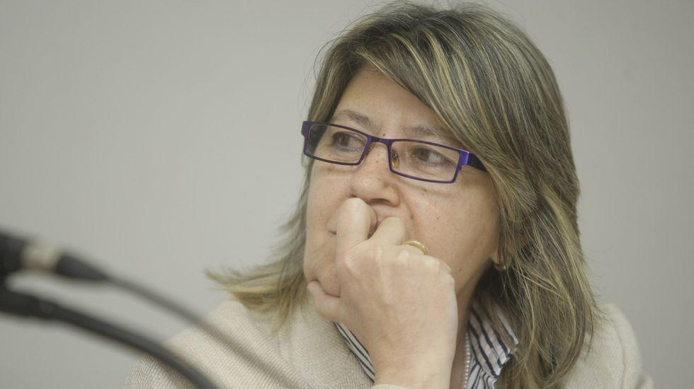 Rosa Quintana es conselleira do Mar