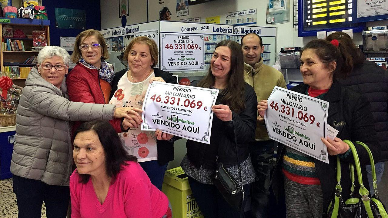 Gritos de alegría al comprobar que los 46 millones de Salvaterra se quedaron cerca.