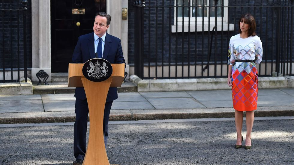 David Cameron anuncia su adiós.