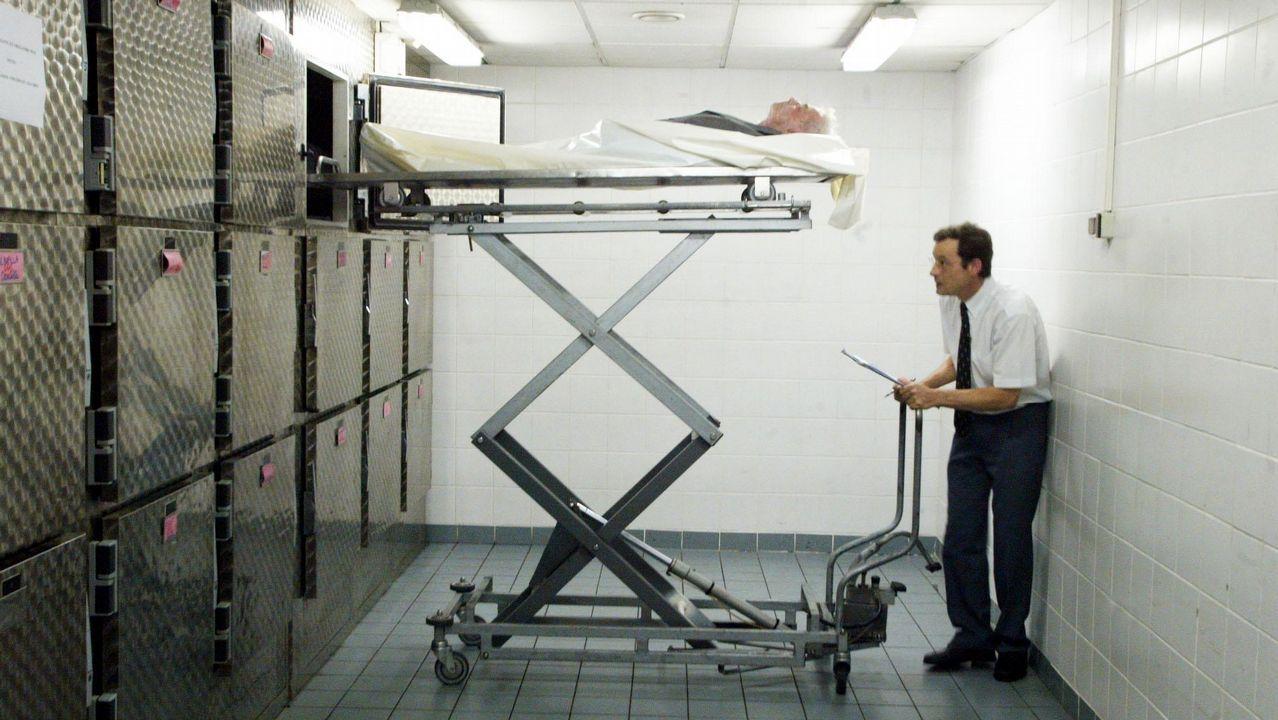 Científicos logran imprimir un corazón que palpita.Foto de recurso de una morgue en Londres