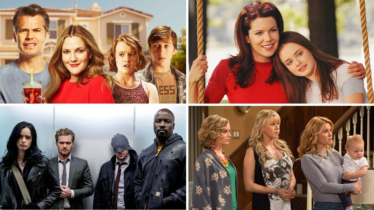 .«Santa Clarita Diet», «Las chicas Gilmore», «Marvel: The Defenders» y «Madres forzosas»