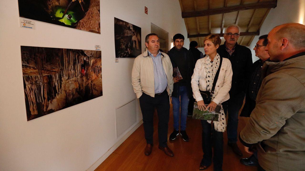 Inauguración delCentro Español de Documentación Espeleológica en Mondoñedo
