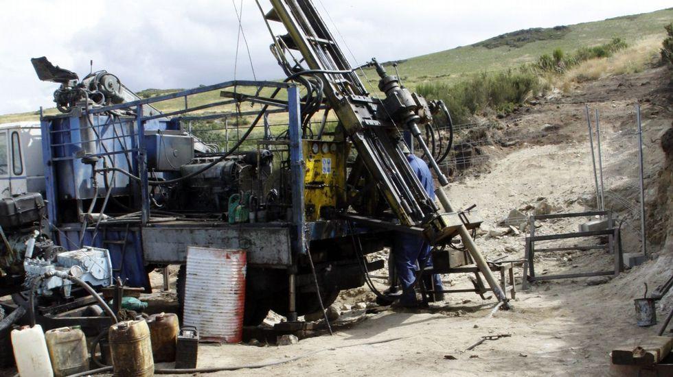 Sondeos para reabrir la mina en el año 2012