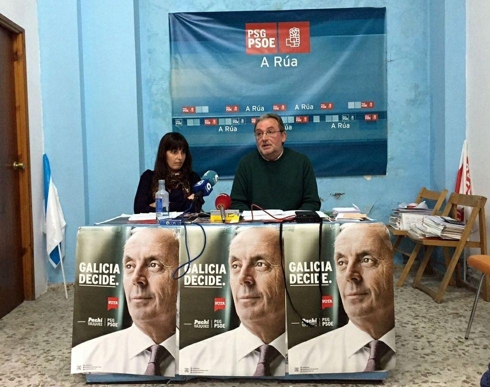 .María Albert y Fernández Gudiña gobernarán en A Rúa.