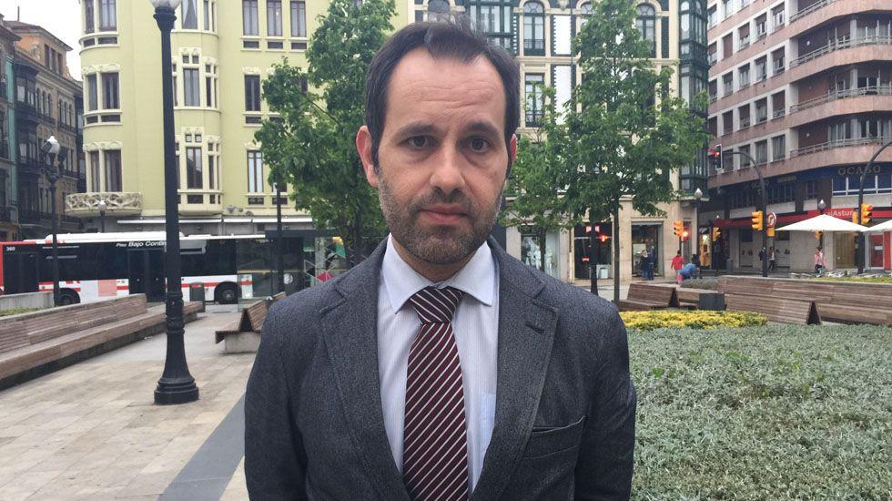 Diego del Valle, presidente de Tu Fe Nunca Decaiga