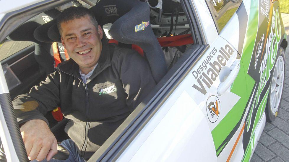 «Hay mucho menos machismo».El naronés Fernando Rico es el actual subcampeón de la Copa Suzuki Swift