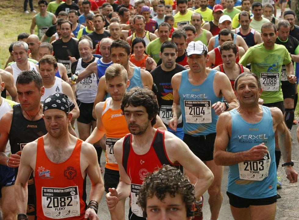 Atrás quedan veinticinco años en los que los corredores daban colorido a la prueba.