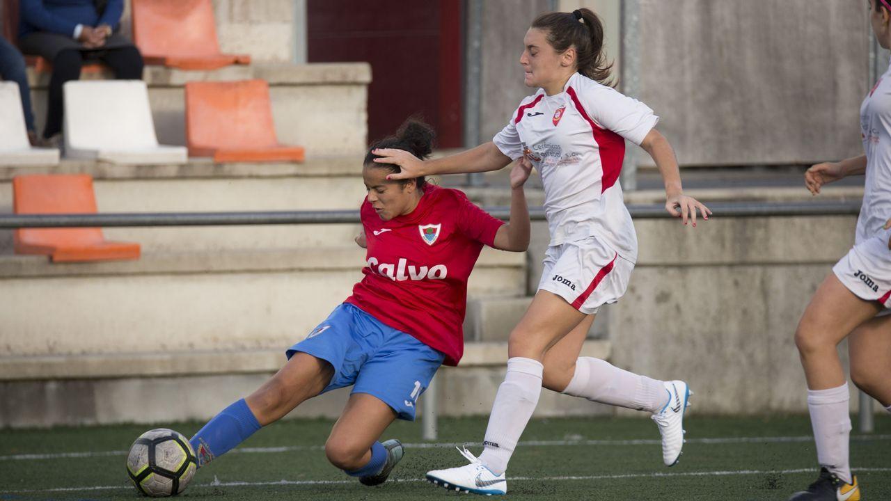 ¡Mira las imágenes del Bergantiños-Sporting Cambre!