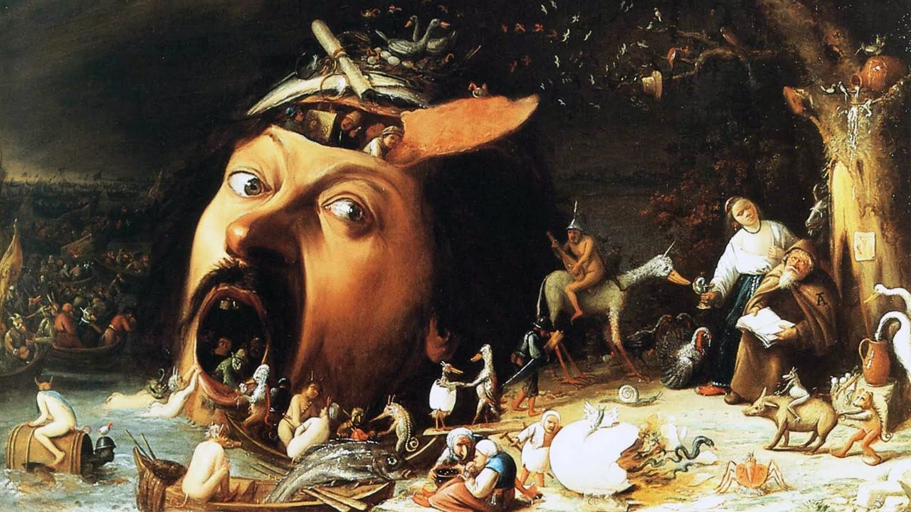 La tentación de San Antonio, de Joos van Craesbeeck