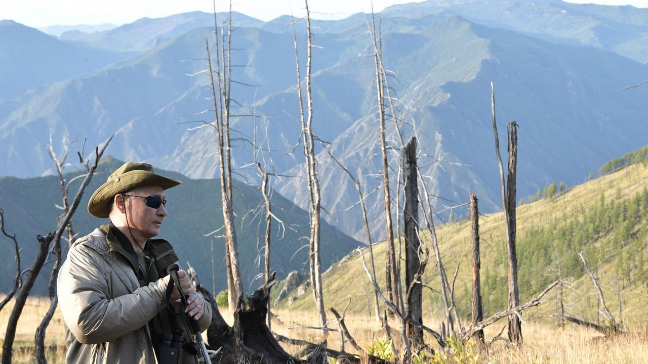 .La región de Tuva está de actualidad porque no lejos de aquí el gobierno ruso construirá una base militar para una unidad de defensa antiaérea