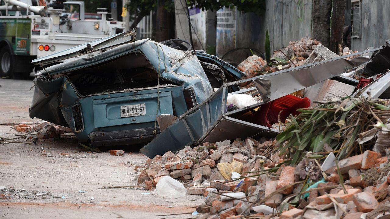 Así vivieron los mexicanos el terrible terremoto de este viernes.Florin Andone, en Riazor