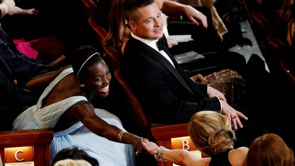 Oscars 2014: Los mejores momentos de la gala.L'Wren Scott con Mick Jagger en la alfombra roja de la gala del Met en mayo del 2011