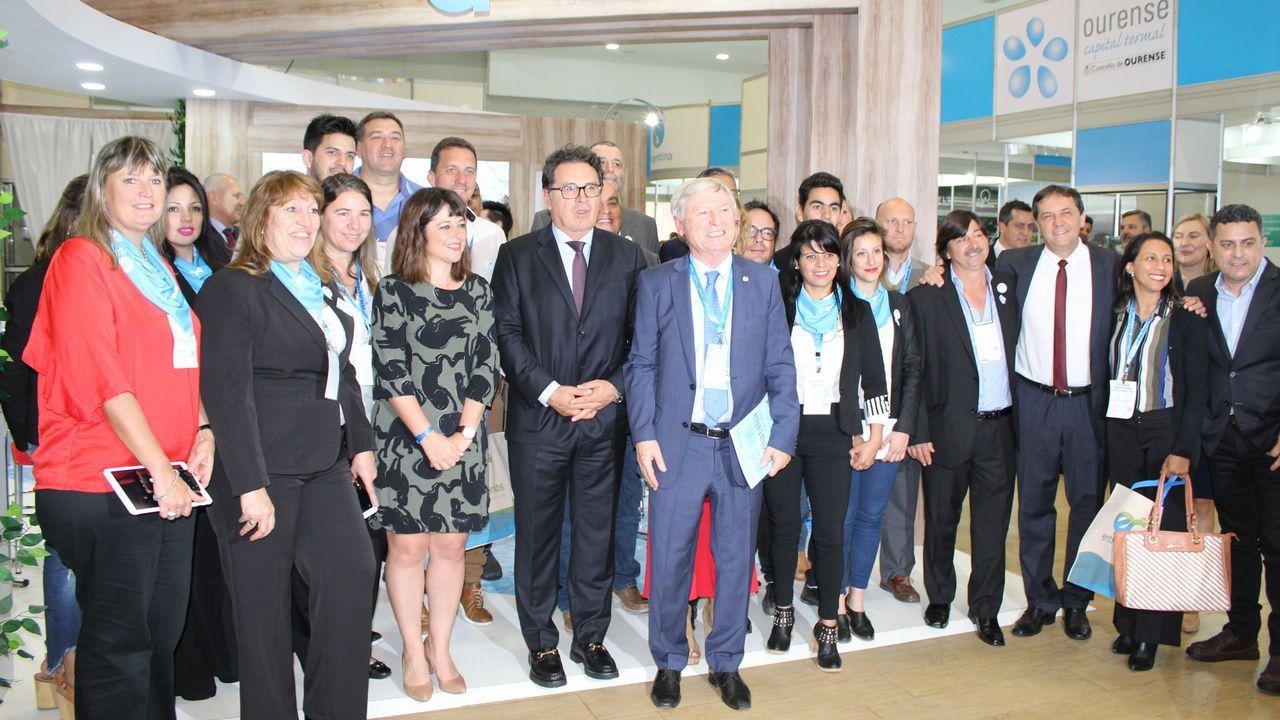 Ourense y Galicia presumen de turismo de salud en Brasil.