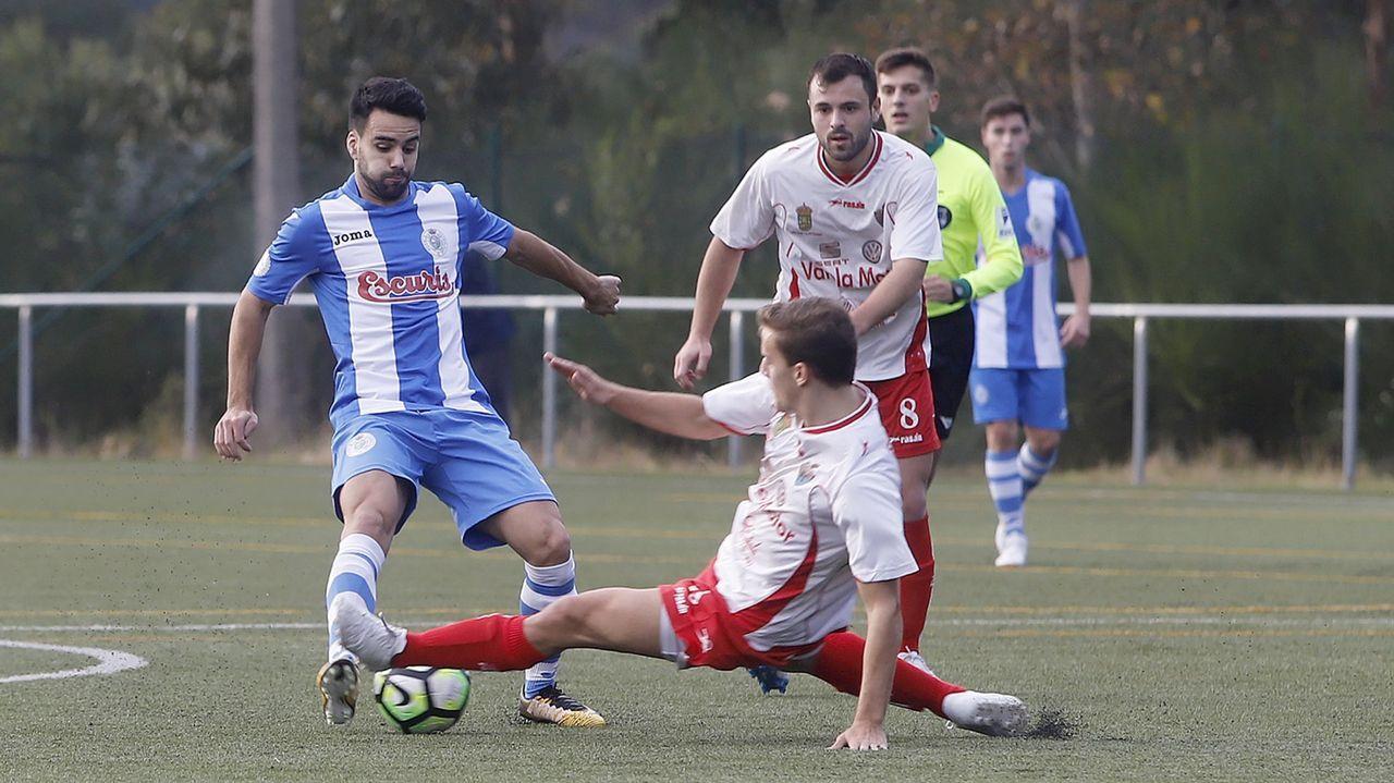¡Mira aquí las imágenes del partido de tercera división entre el Boiro y el Arousa!