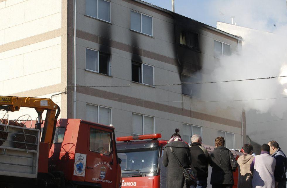 El incendio de Rábade del pasado lunes le costó la vida a una persona.
