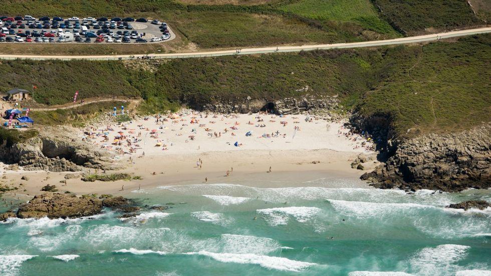 Playa de Retorta, en Boiro.Playa de A Salsa, en Arteixo