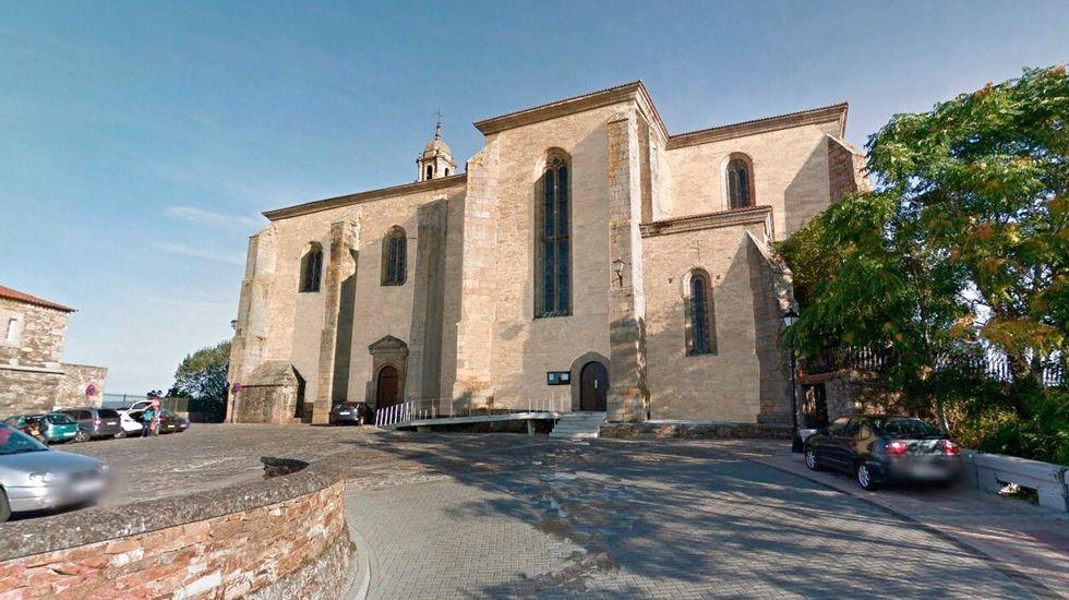 La iglesia de San Vicente, después y ahora.