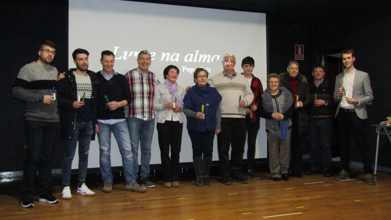 Una multitud reclamó igualdad en Burela.Exposición de Quesada el año pasado