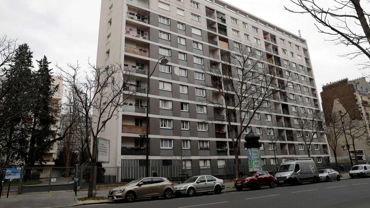.Piso de París donde vivia la mujer de 85 años