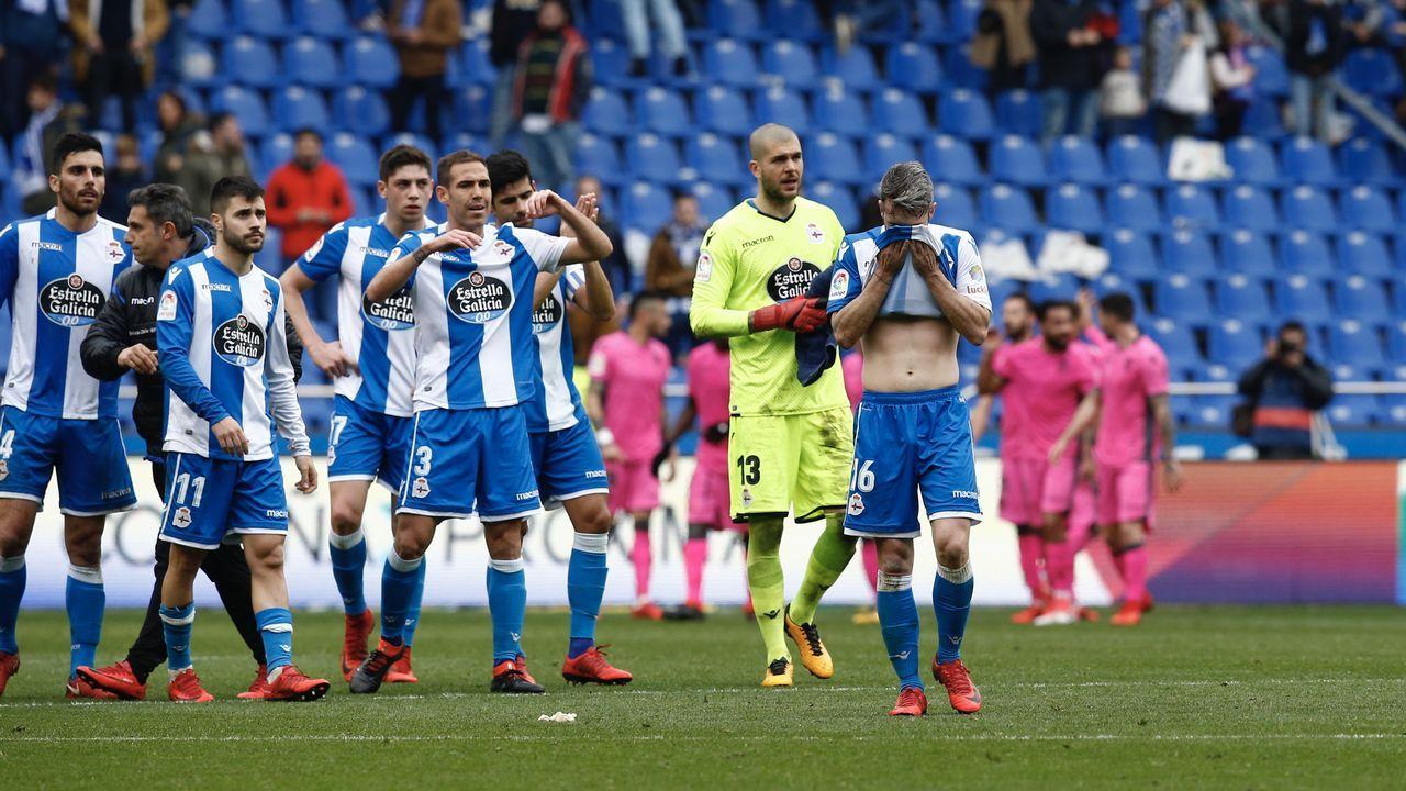 El Deportivo - Levante, en imágenes.