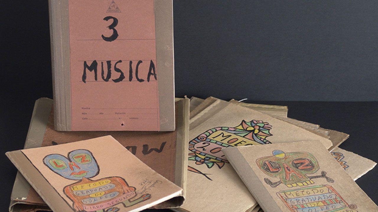 Cuadernos de música de Aurelio Suárez