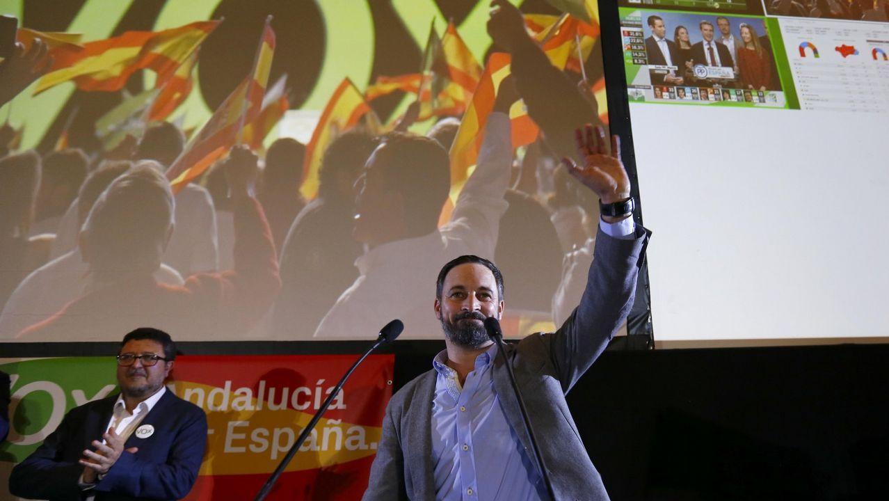 | EFE.El ultranacionalismo, el rechazo a la inmigración y la defensa de valores muy conservadores definen el proyecto de Abascal