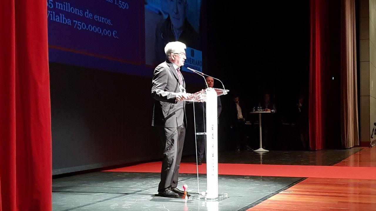 La gala de los empresarios de Vilalba, en imágenes
