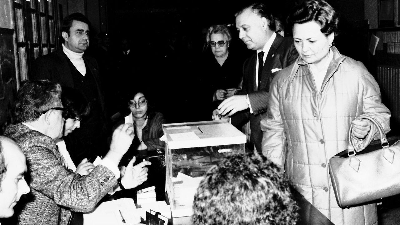 La inauguración de Moexmu, en imágenes.Novo Freire, votando en las elecciones autonómicas de 1981