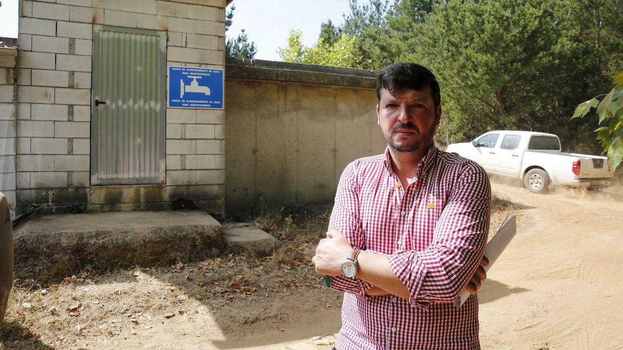 El alcalde de Trasmiras, Emilio José Pazos Ojea