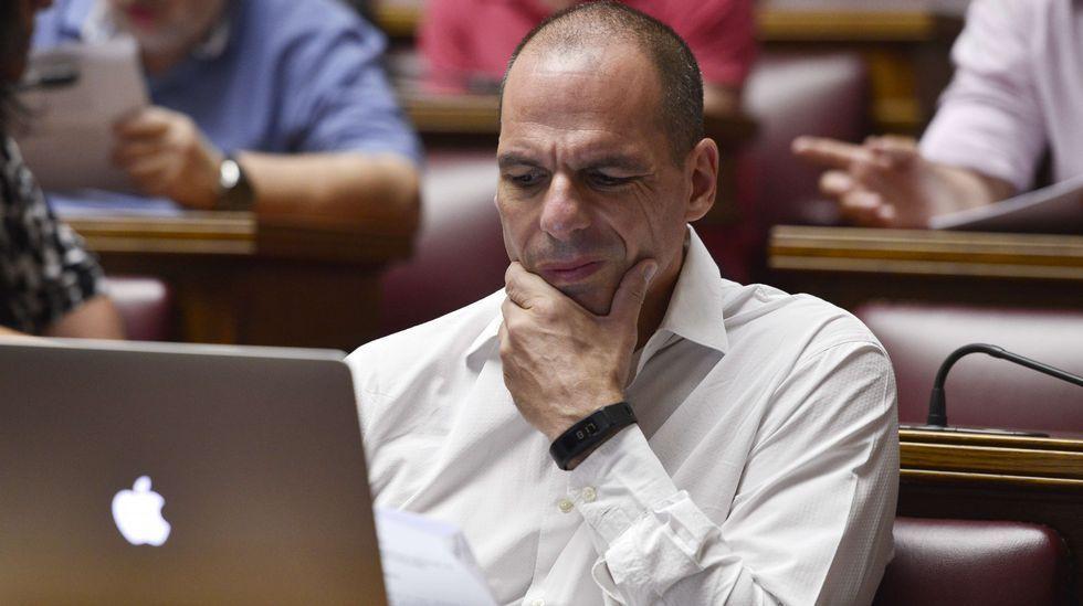 El exministro de Finanzas, Yanis Varufakis