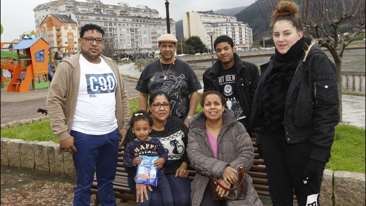 Fiesta en la pequeñaRepública Dominicana de Lugo
