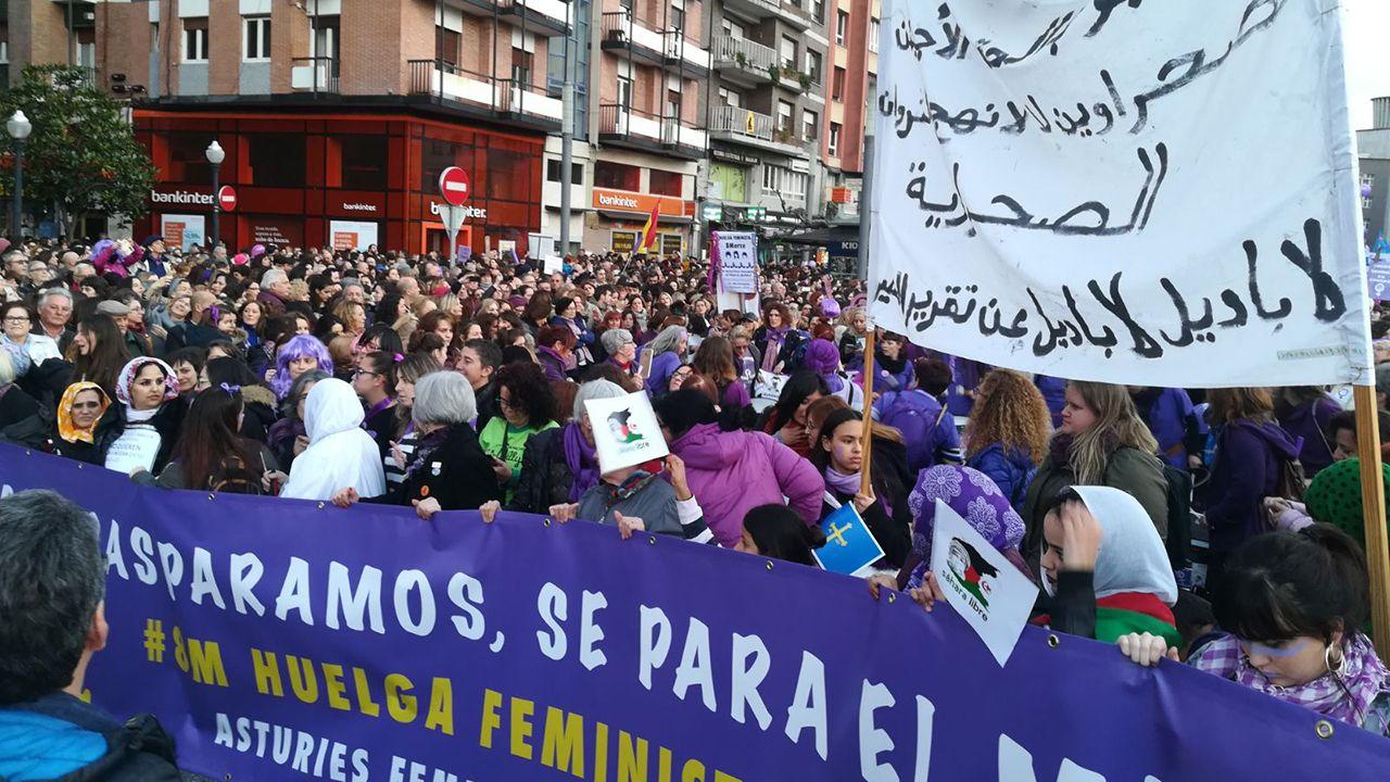 Manifestación del 8M en Gijón